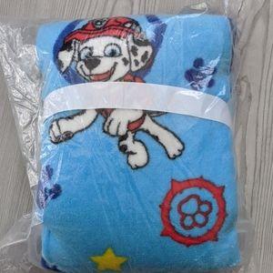 Paw Patrol XL Plush Toddler Blanket w/Satin Trim
